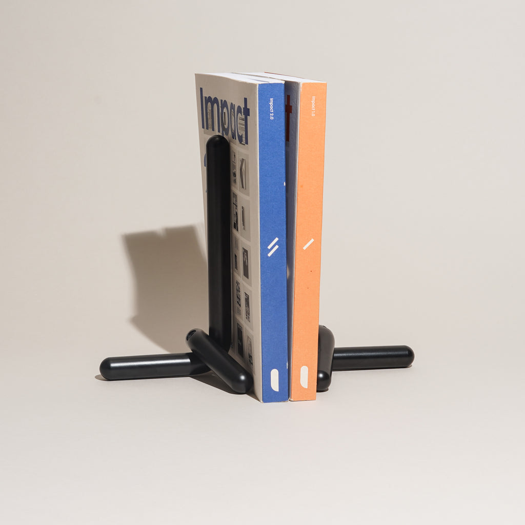 Cal Bookends (Black)