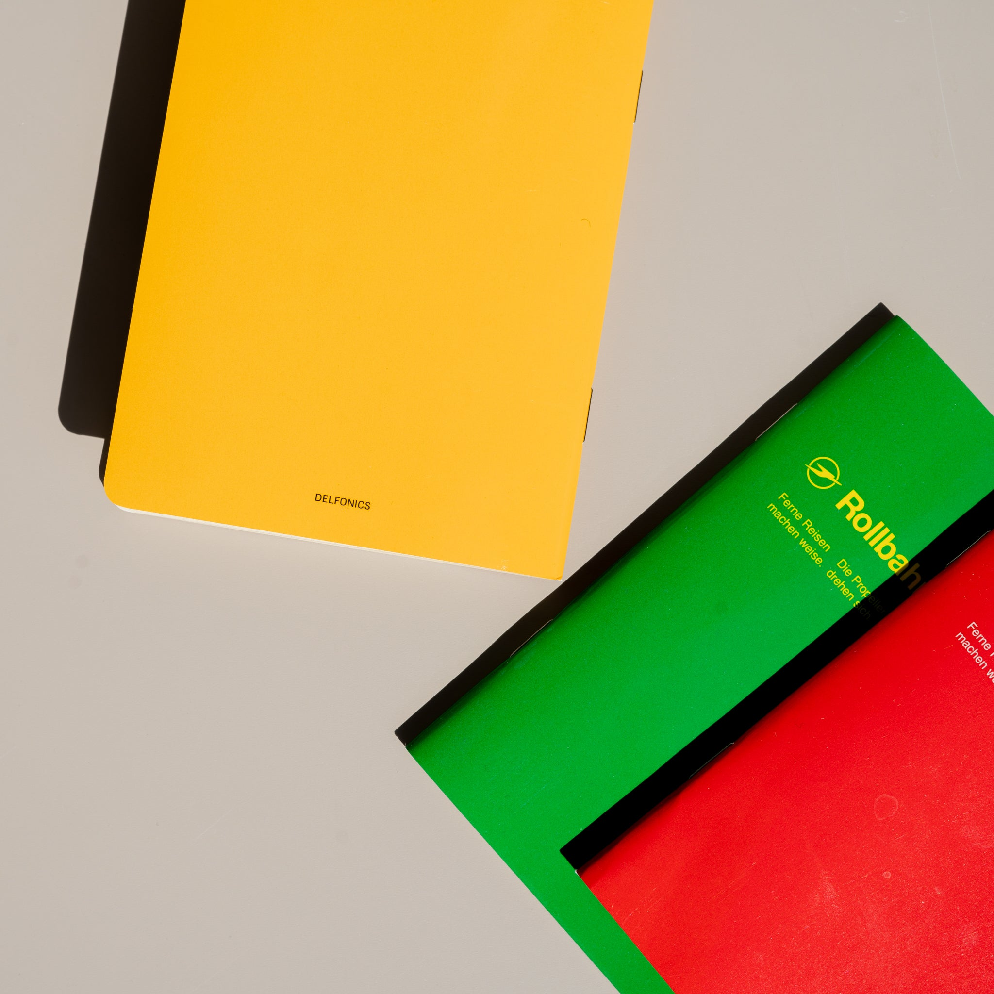 Rollbahn 'Note' Notebook (A6 Pocket)
