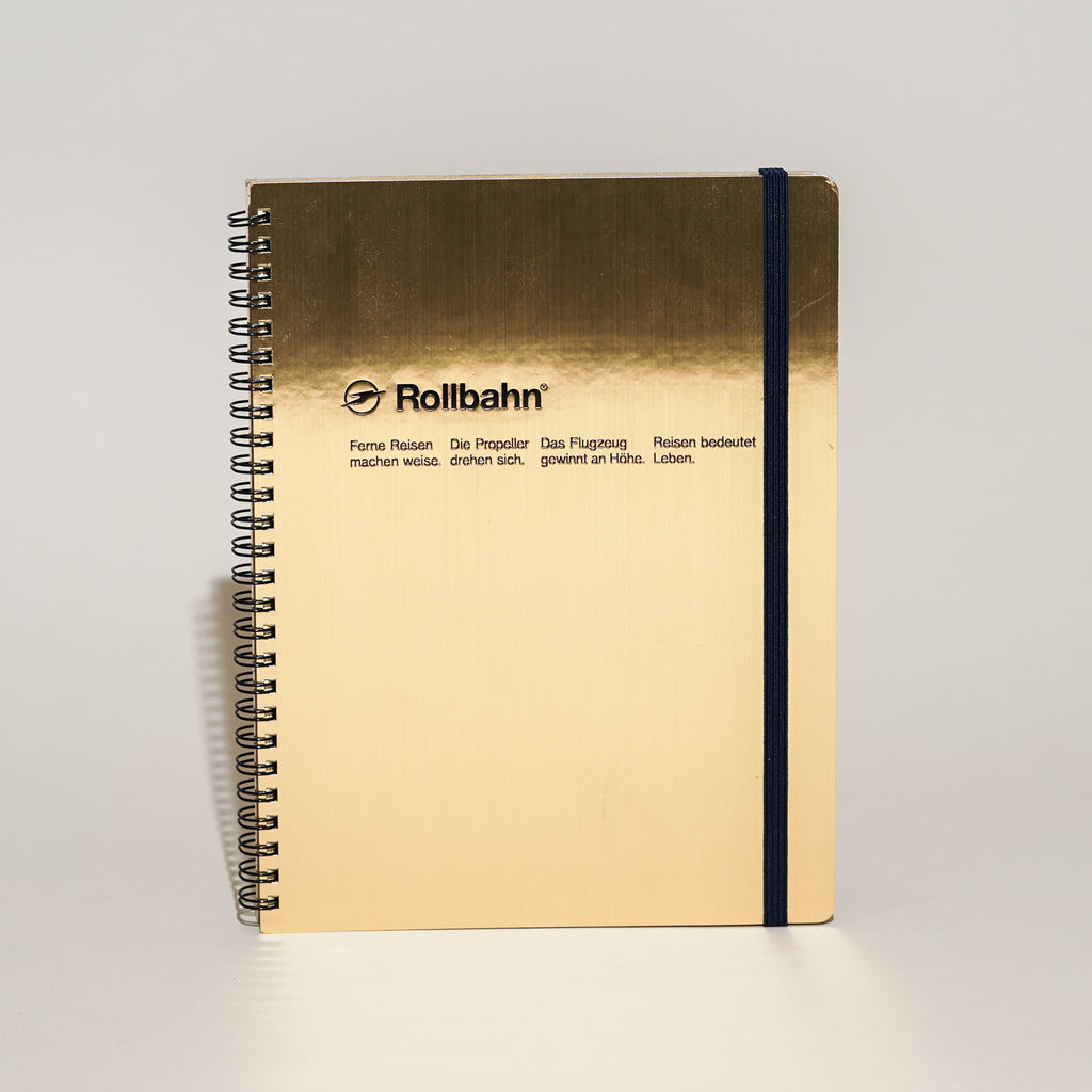 Rollbahn Spiral Notebook (Extra Large)