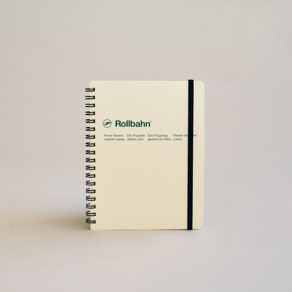 Rollbahn Spiral Notebook (Large Size)