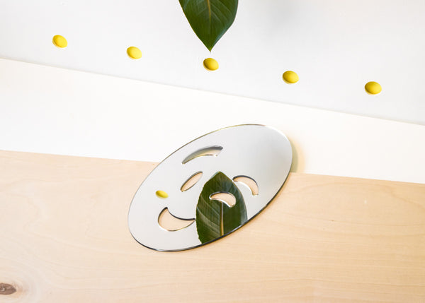 The Wink Emoji Mirror designed by Miguel Ramirez from Commonplace.