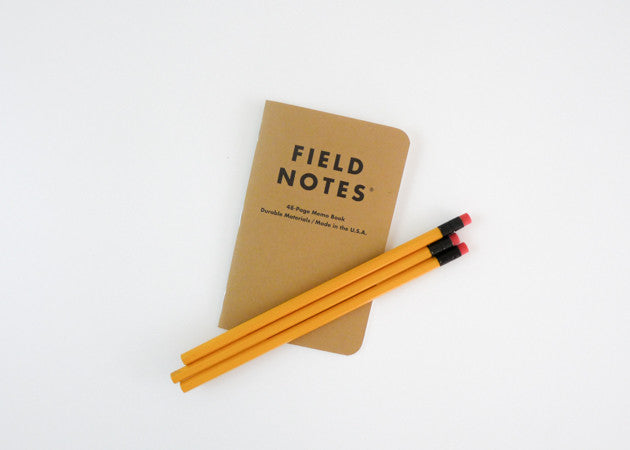 Field Notes - Original 3-Pack (Plain - Single)