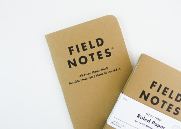 Field Notes - Original 3-Pack (Ruled - Package)