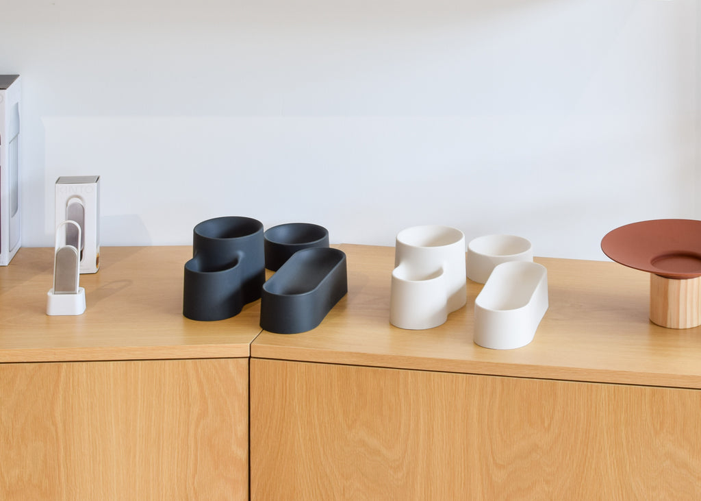Good Thing's G3 Vessels on display at Commonplace design shop in Milwaukee, Wisconsin.
