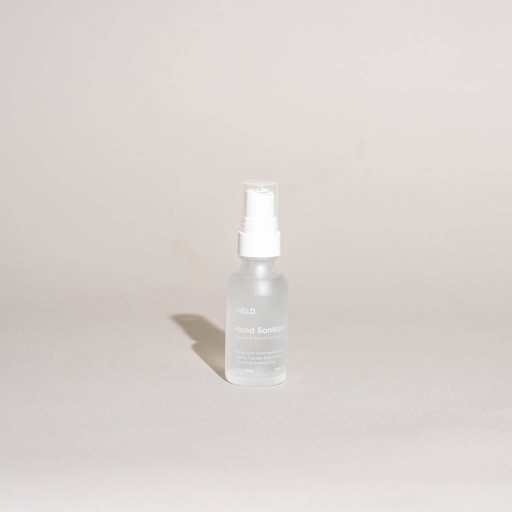 Hand Sanitizer Spray - Bergamot + Chamomile (1oz Bottle)