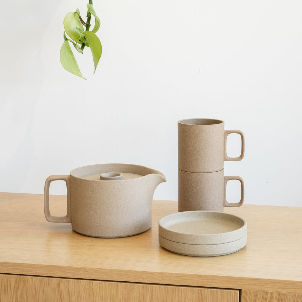 Hasami Porcelain ceramic wares made in Japan, featuring the 13oz Mug in natural finish.