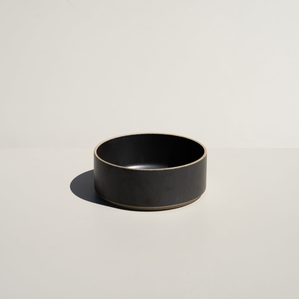 "Hasami Porcelain 5.5/8"" Bowl in black finish."