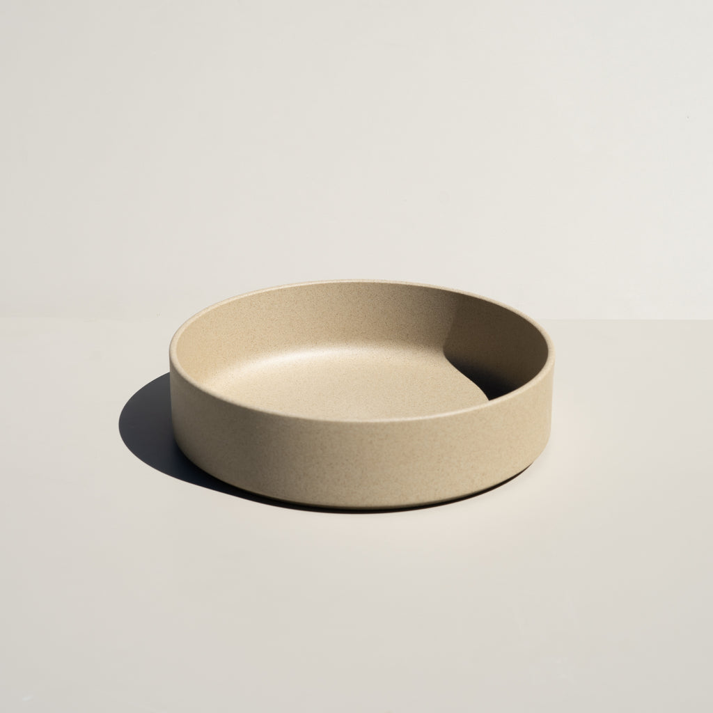 "Hasami Porcelain 8.5/8"" Bowl in natural finish."