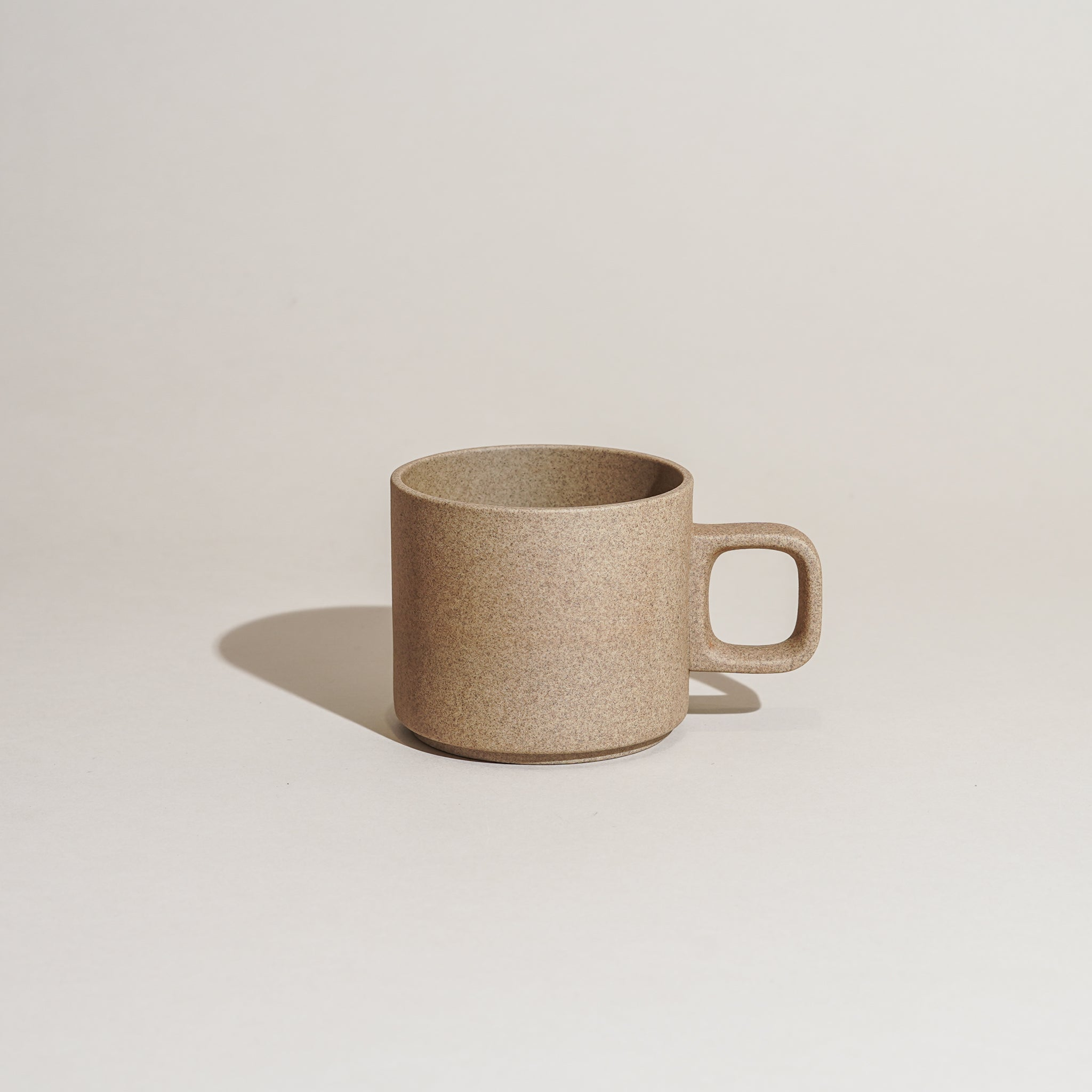 Hasami Porcelain 11oz mug in natural.