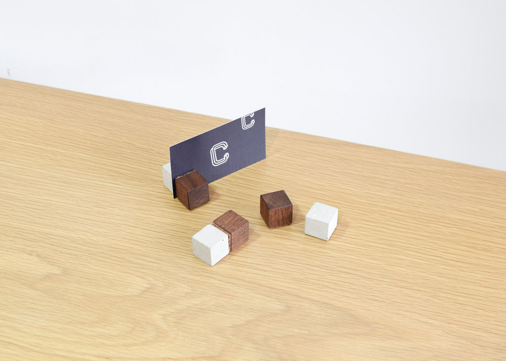 Human Crafted Block Magnets at Commonplace.
