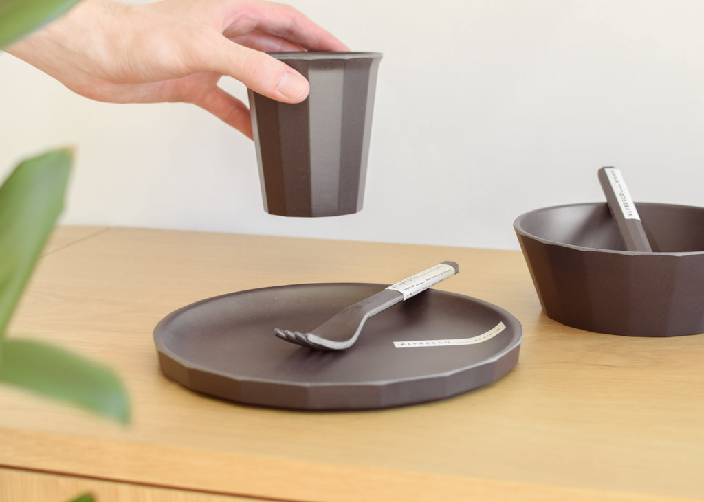 Kinto Alfresco Plate designed for open-air dining, from Commonplace design shop.