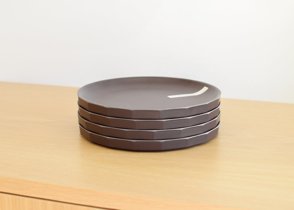 Kinto Alfresco Plate designed for open-air dining, designed for Japan.