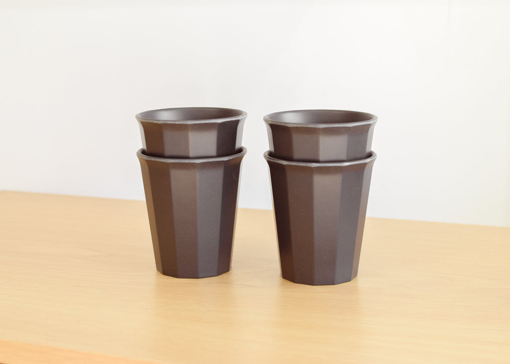 The Kinto Alfresco Tumbler is stackable and durable.