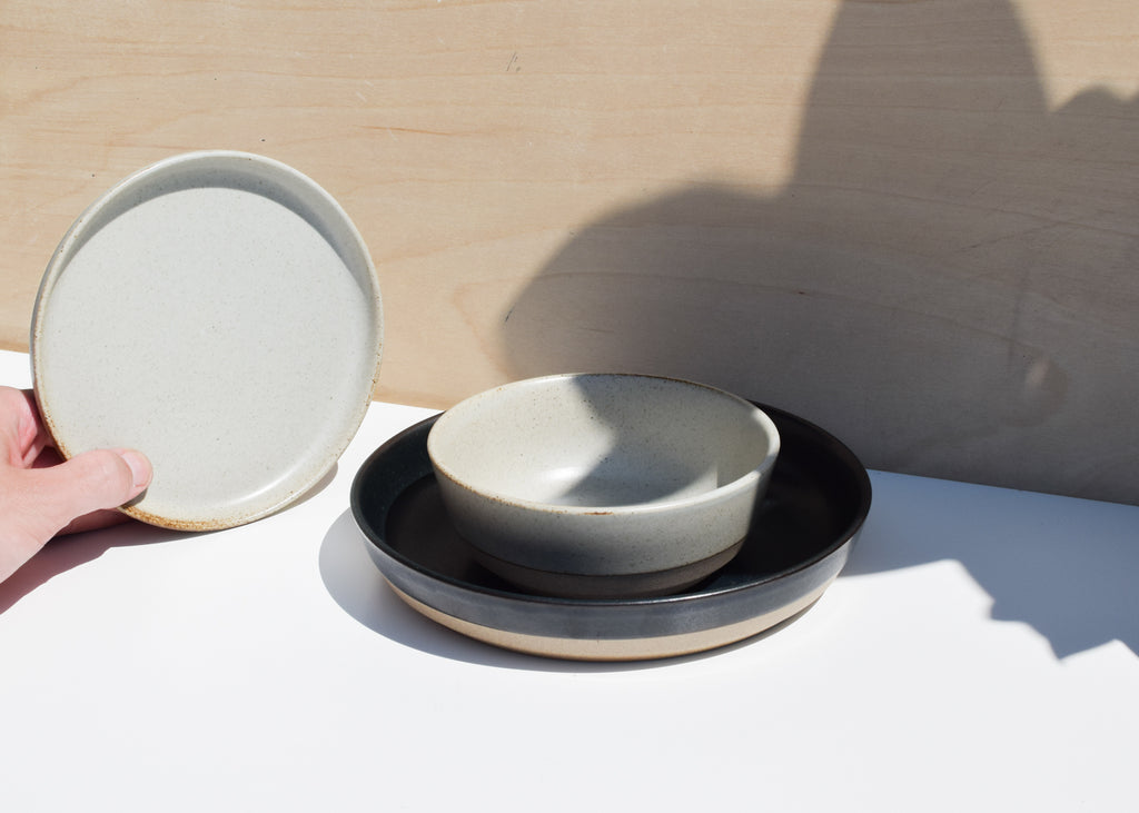 A ceramic bowl from Kinto and their Ceramic Lab tableware collection, on display at Commonplace.