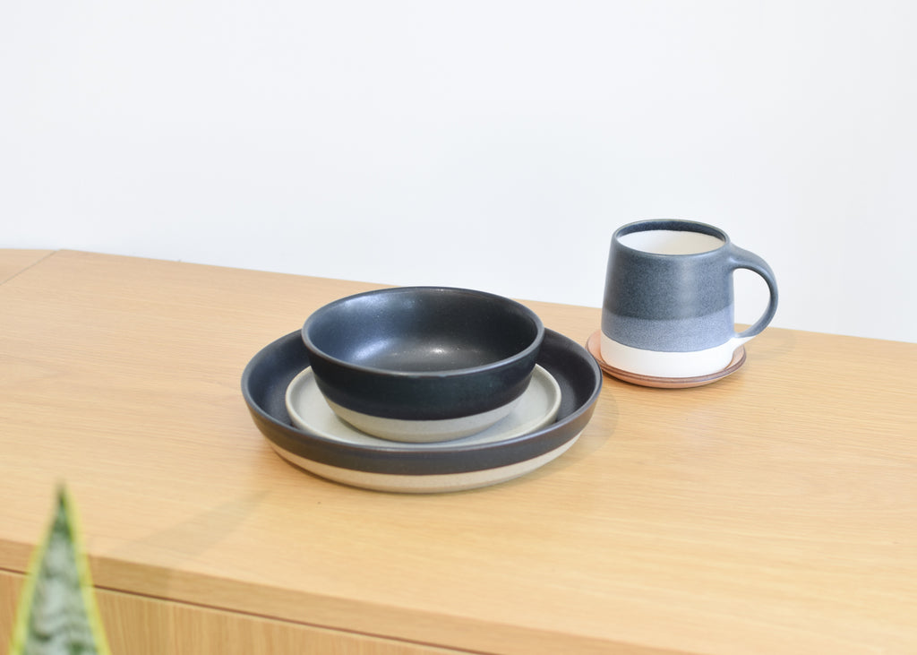 The complete Ceramic Lab set from Kinto available at Commonplace design shop.