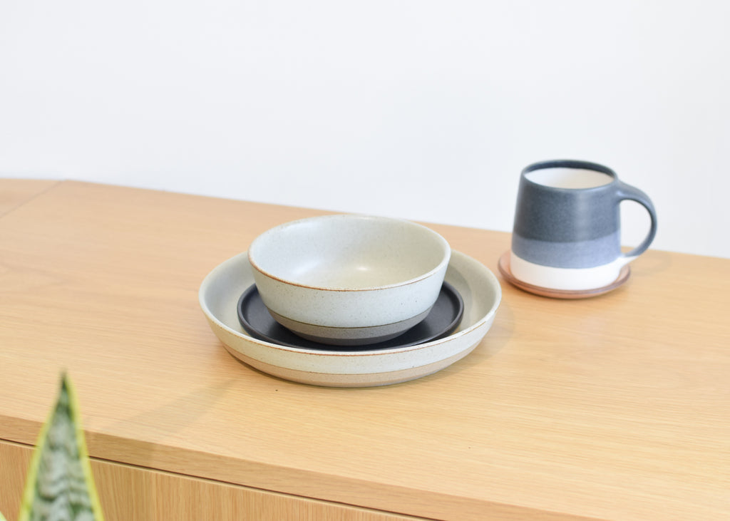 The complete Ceramic Lab collection from Kinto available at Commonplace design shop.