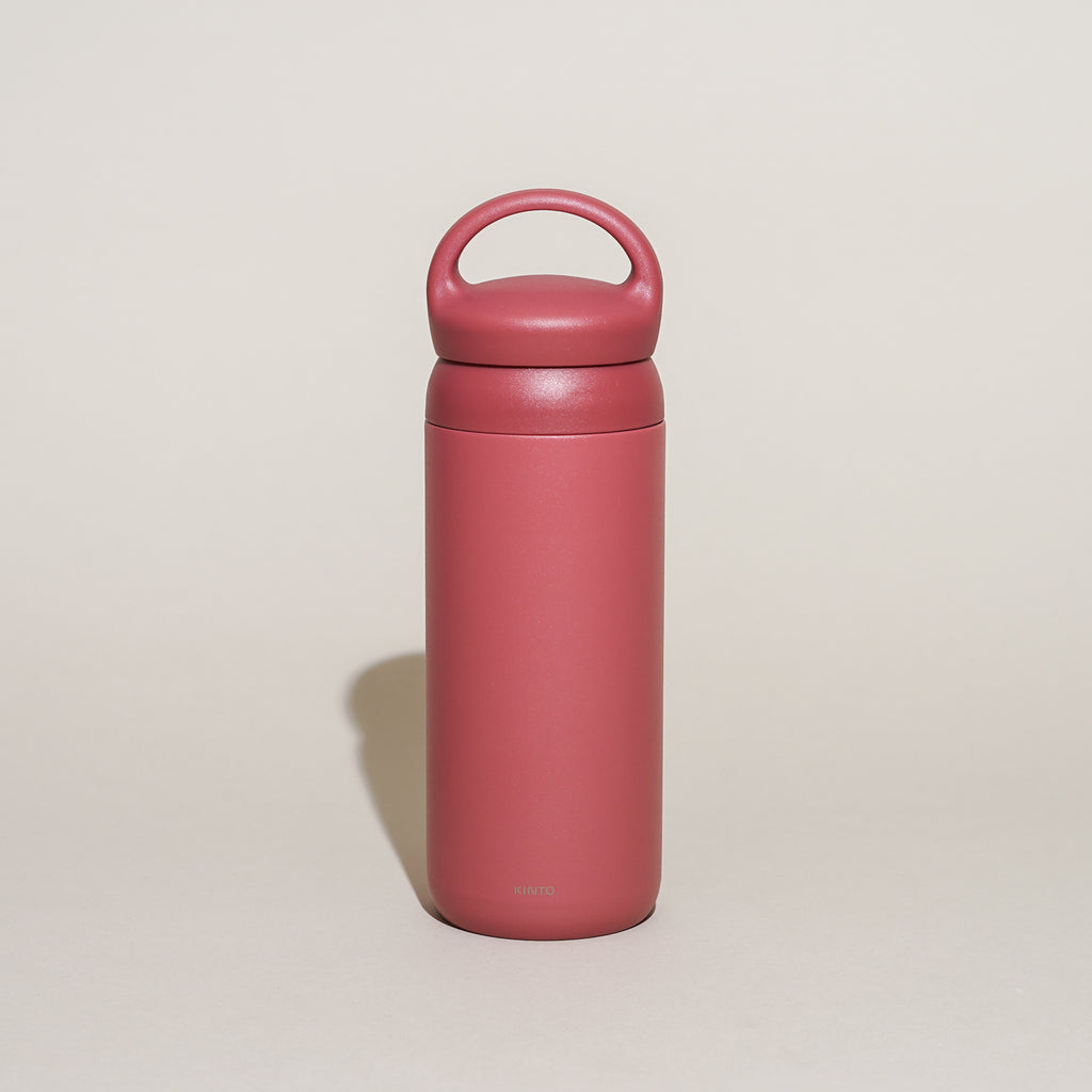 The Day Off Tumbler from Kinto in rose.