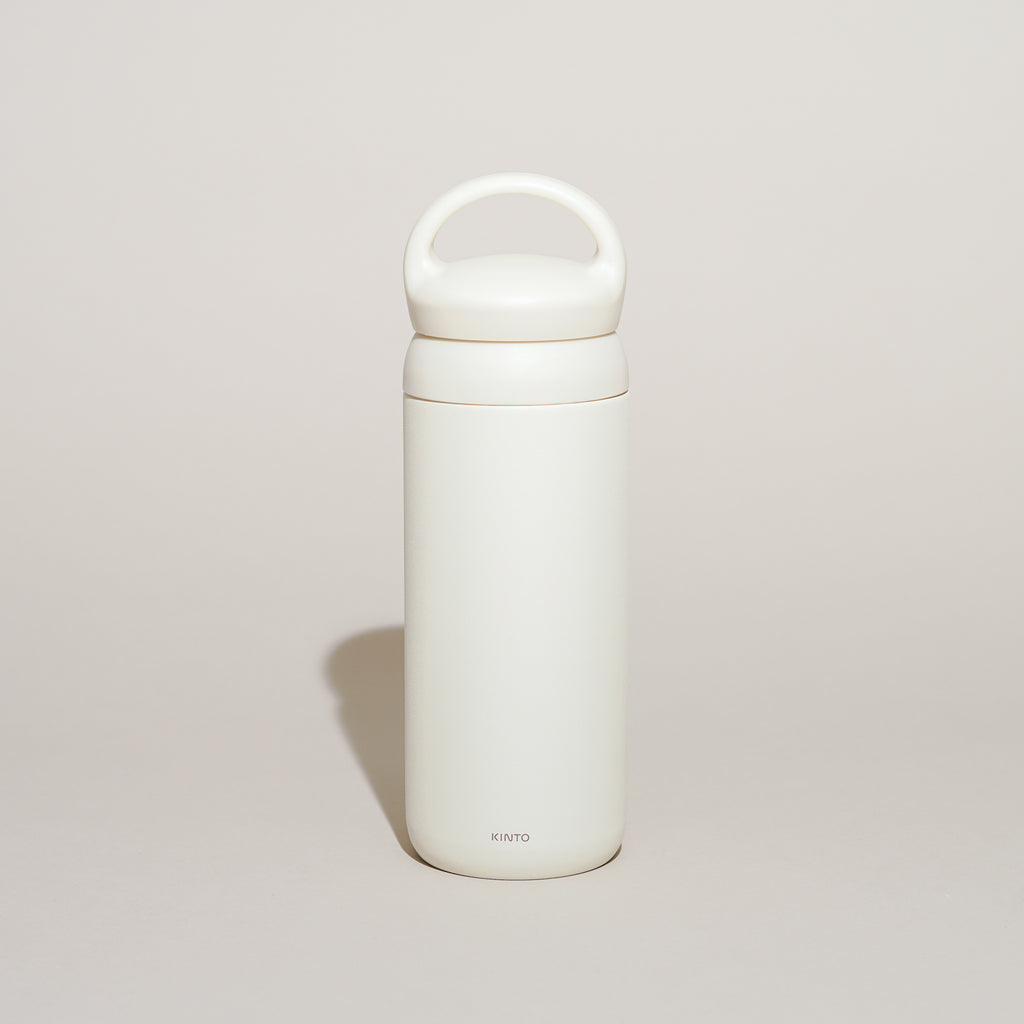 The Day Off Tumbler from Kinto in white.