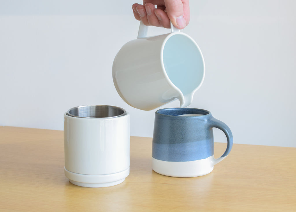 The Faro Coffee Pot Set from Commonplace design shop in Milwaukee, Wisconsin.