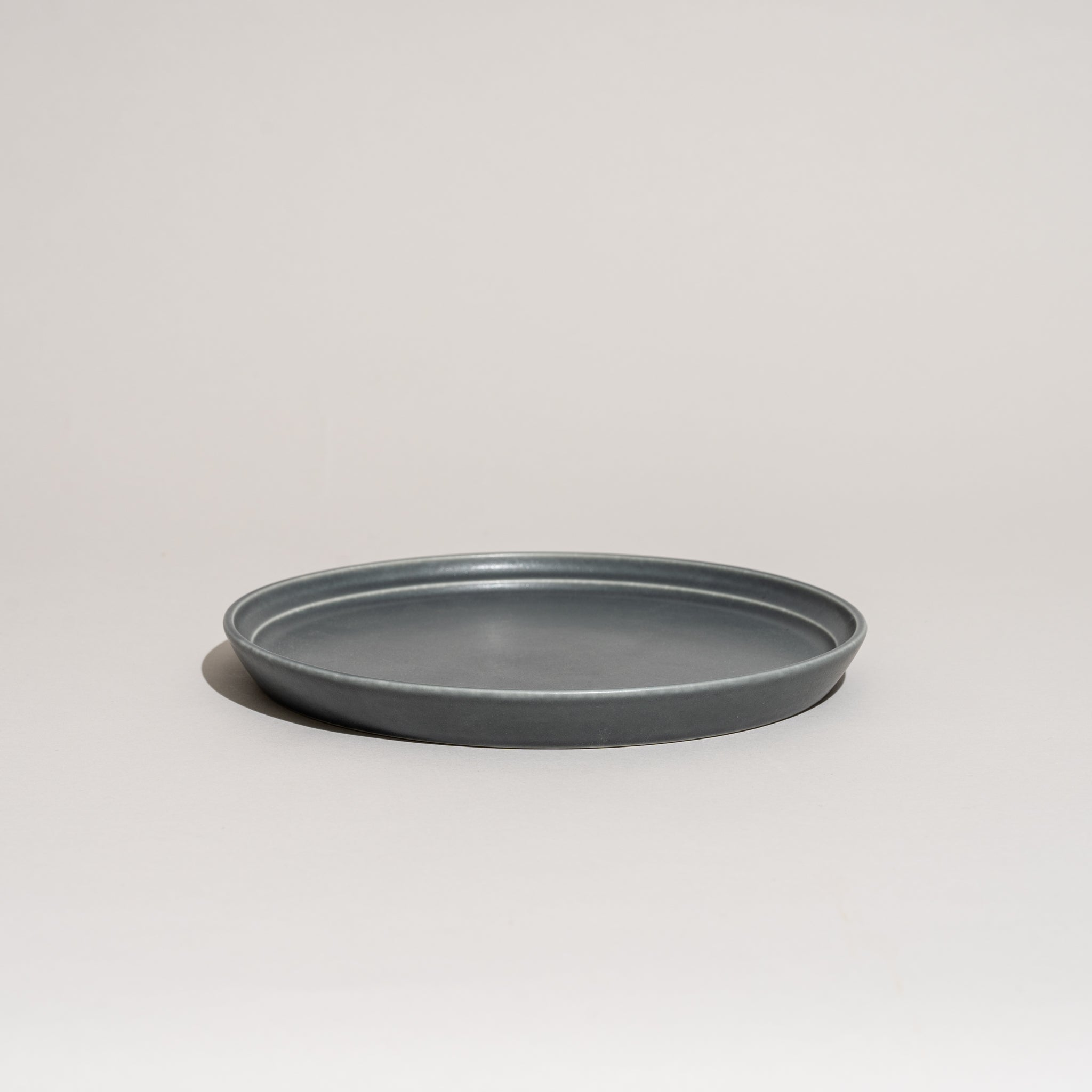 "Fog Plate (8"" - Dark Gray)"
