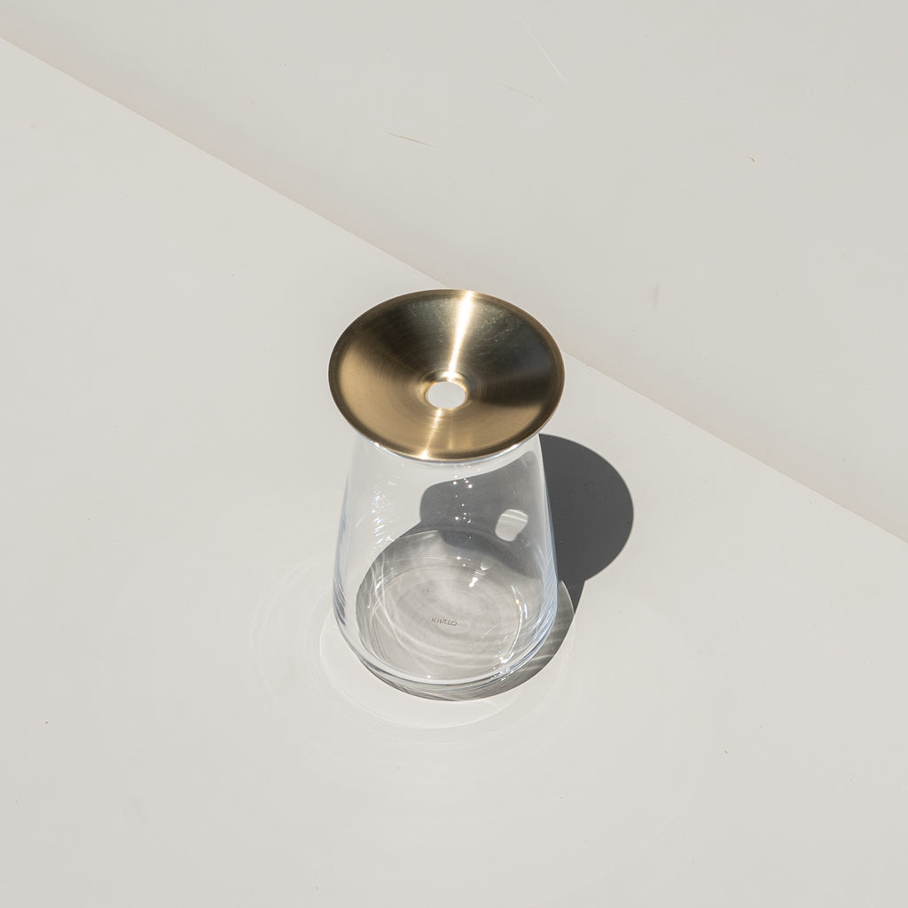 The Luna Vase from Kinto Japan, available at Commonplace design shop.
