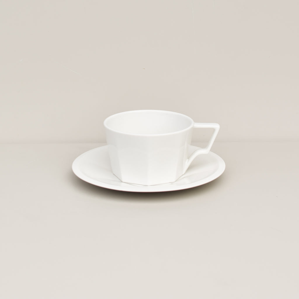 OCT Cup & Saucer (White)