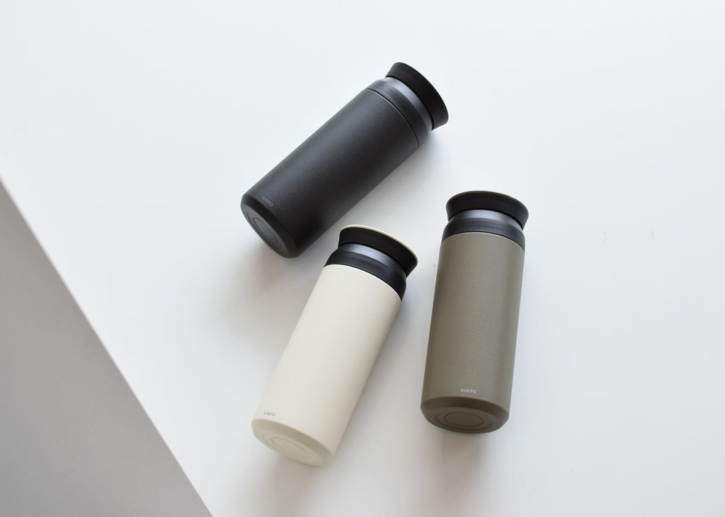 The Kinto 500ml Travel Tumbler from Commonplace design shop.