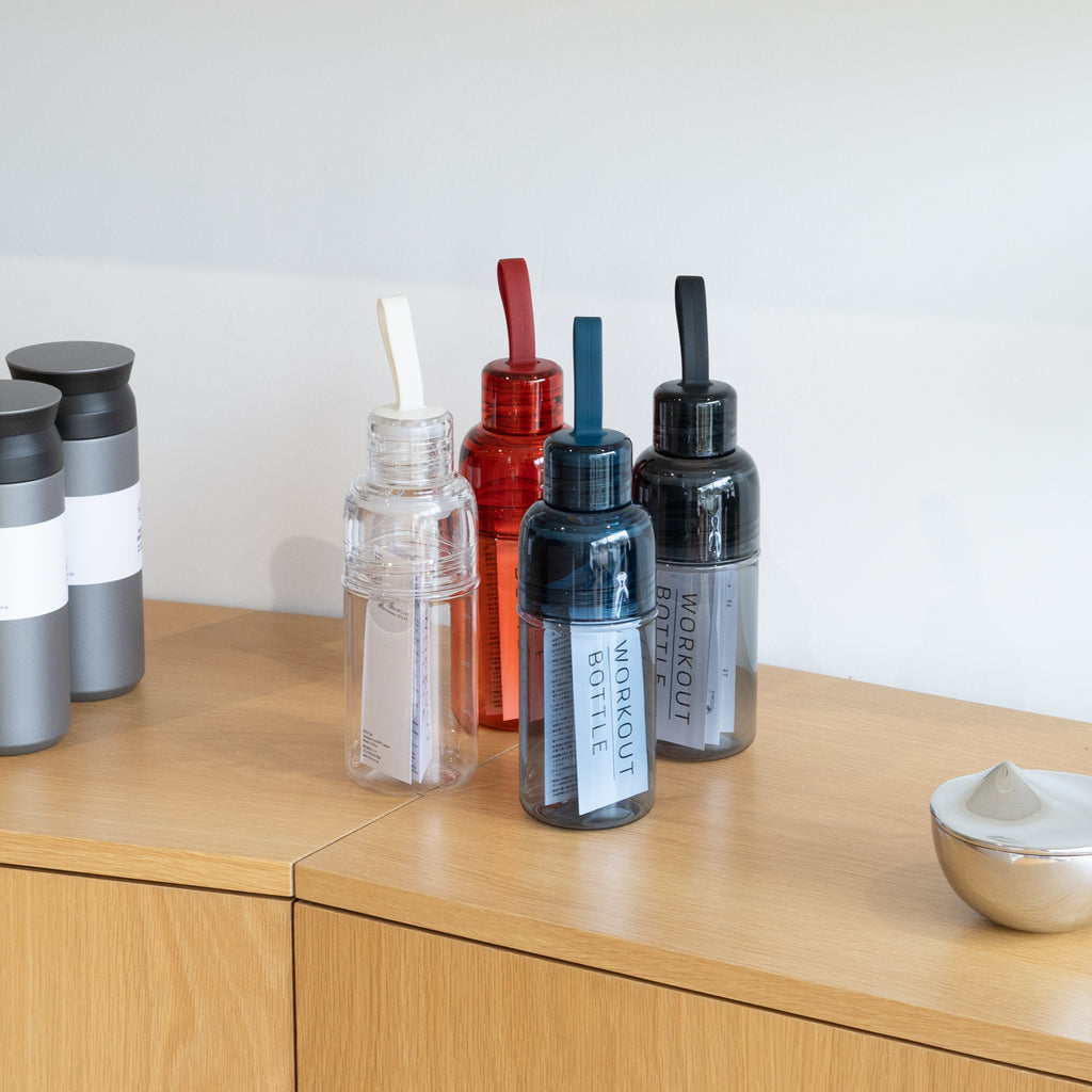 The Workout Bottle from Kinto at Commonplace design shop in Milwaukee, WI.