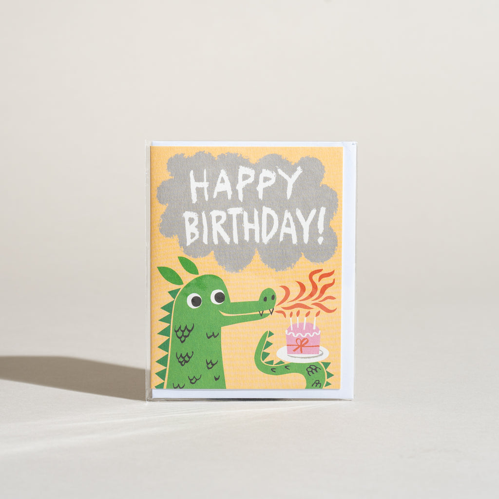 Dragon Breath Birthday Card