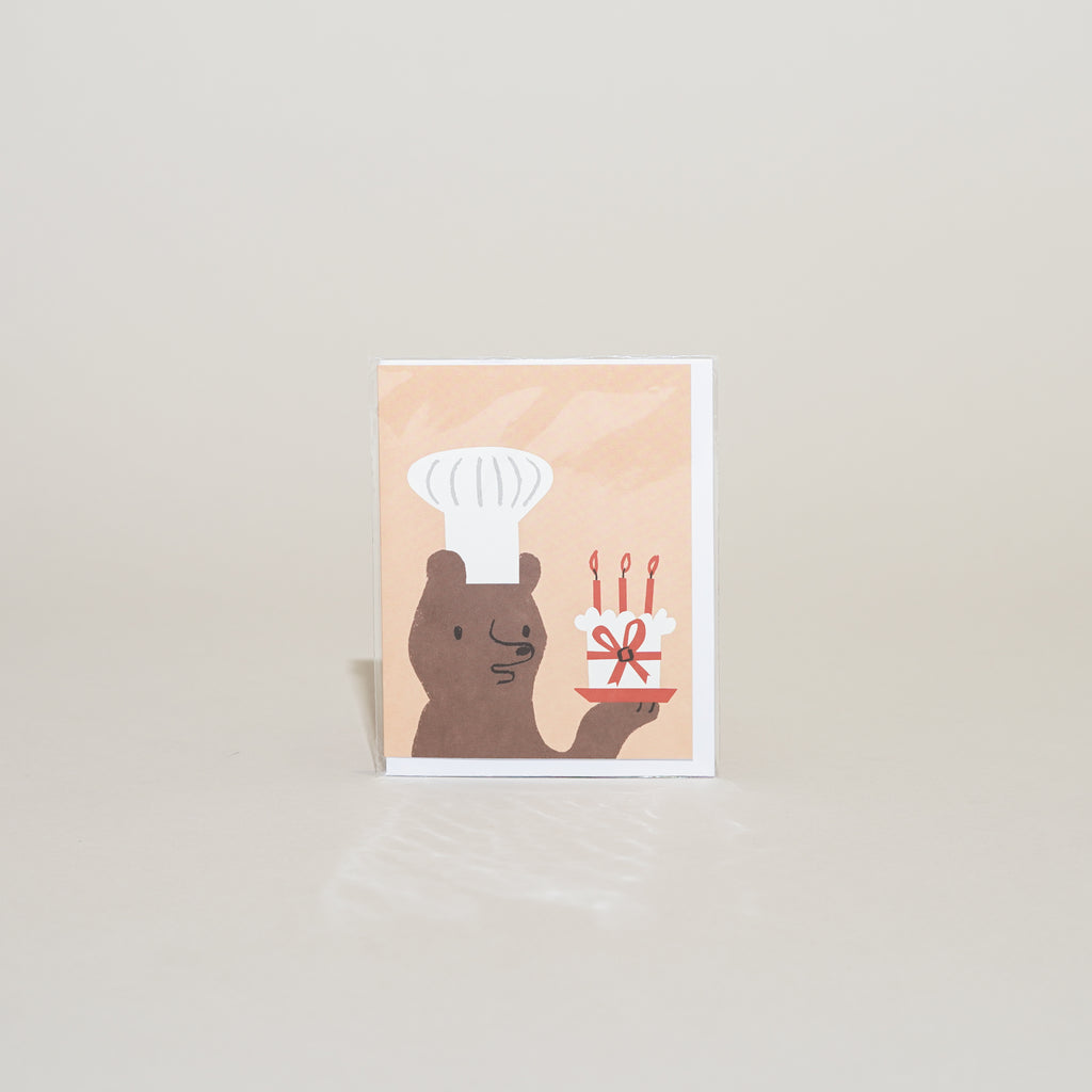 Bear Baker Card