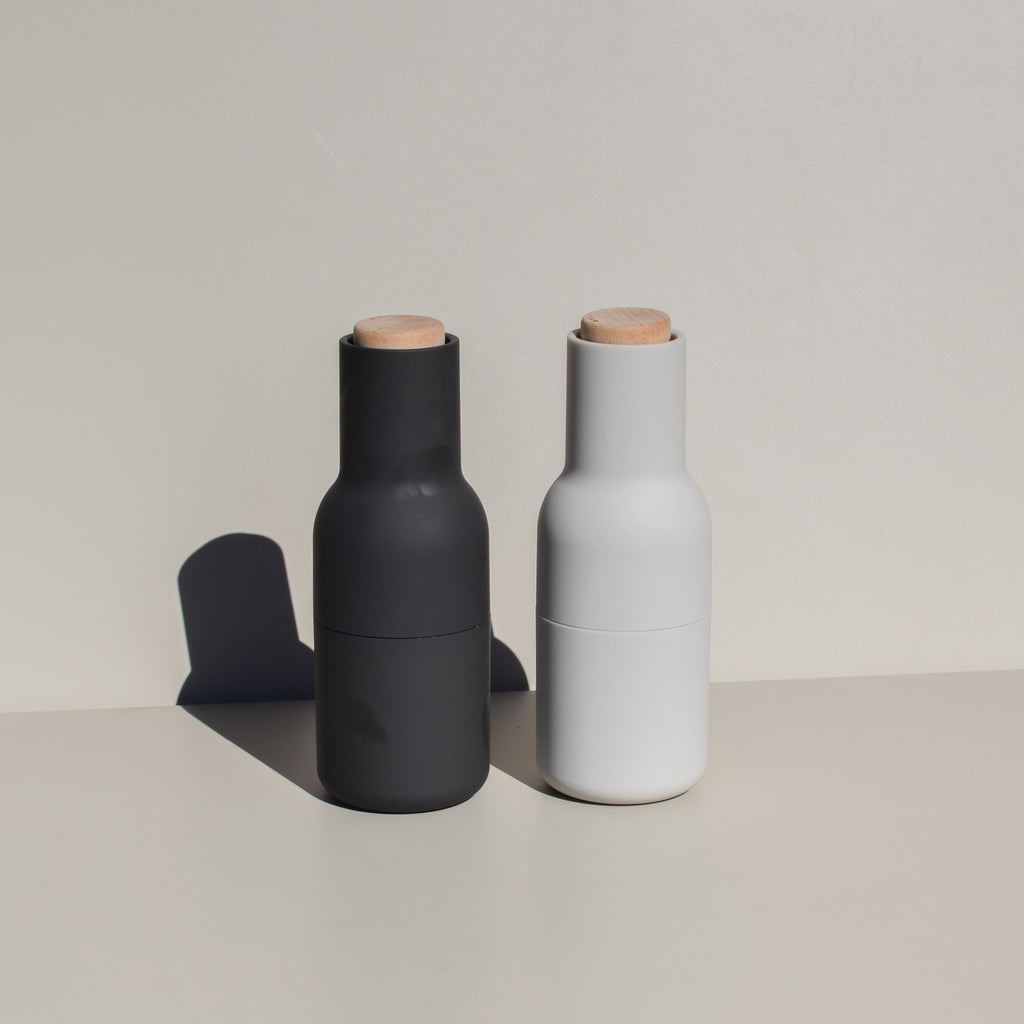 Bottle Grinders (Carbon/Ash - Beech Lid)
