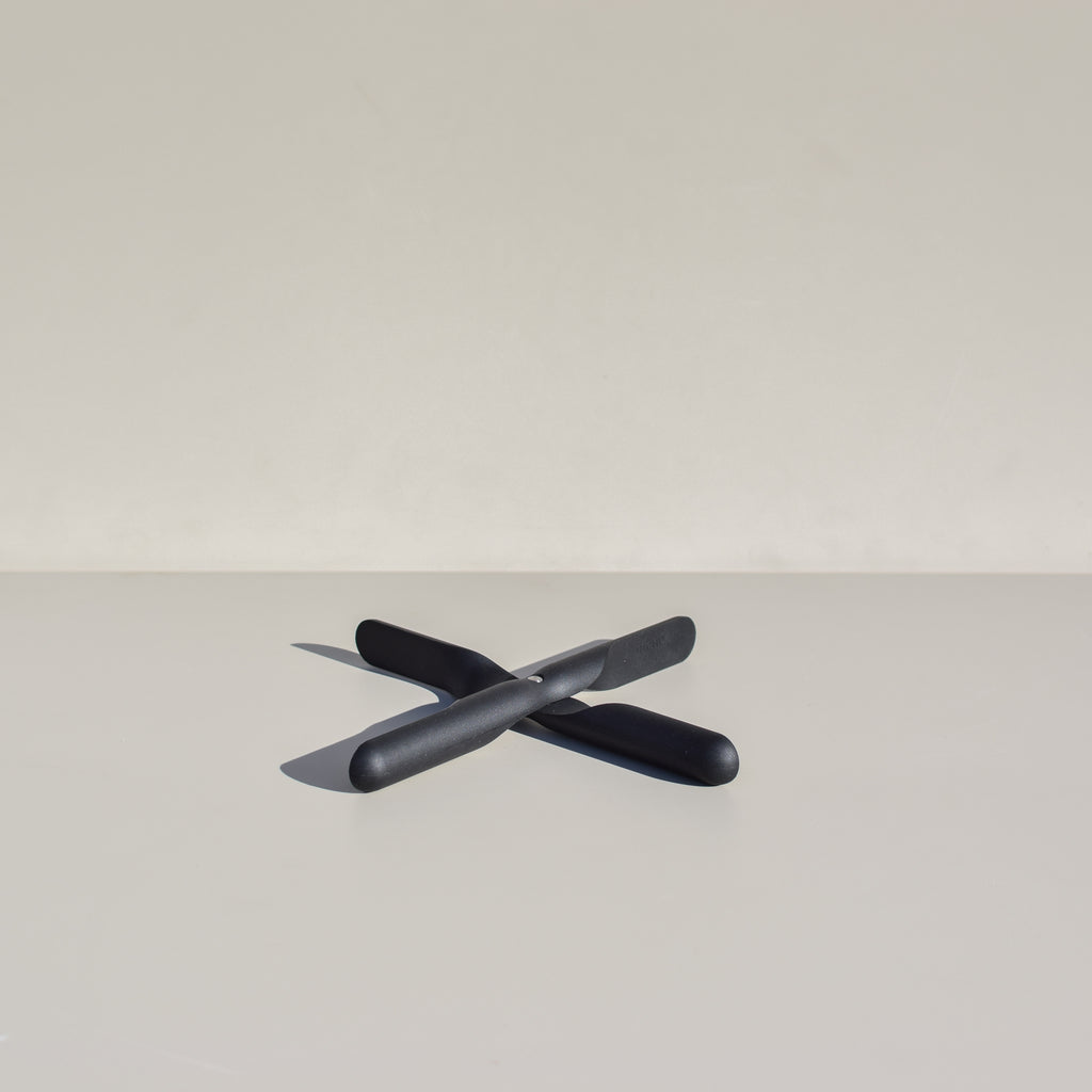 The Propeller Trivet designed by Jakob Wagner for Menu.