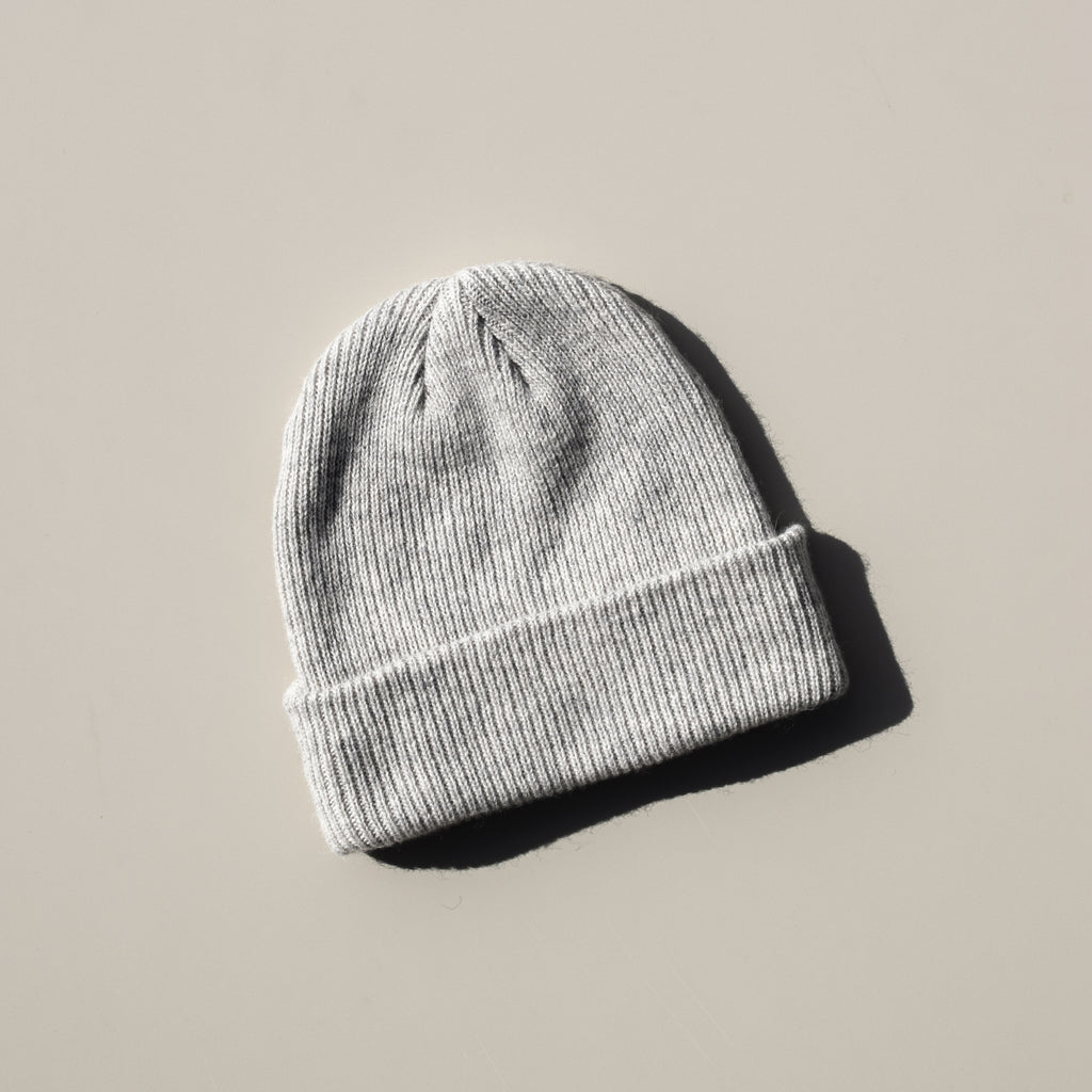 Merino Wool Hat (Grey)