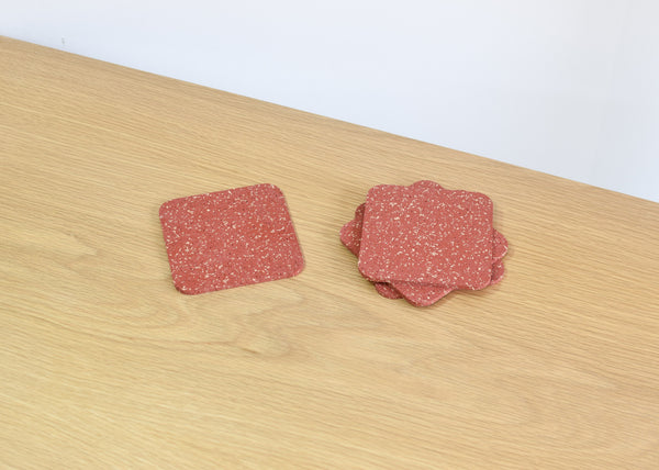Coasters (Brick Red)