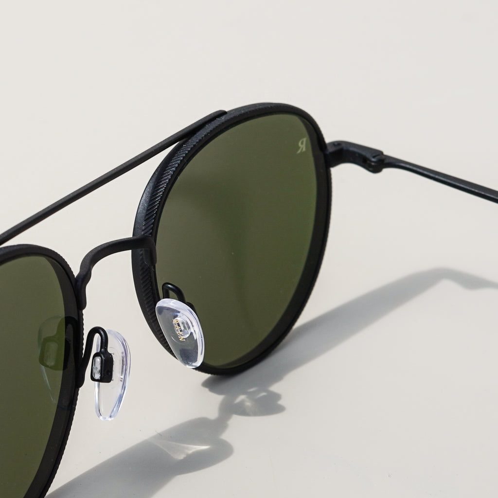 Aliso Sunglasses (Black/Brindle Tortoise)