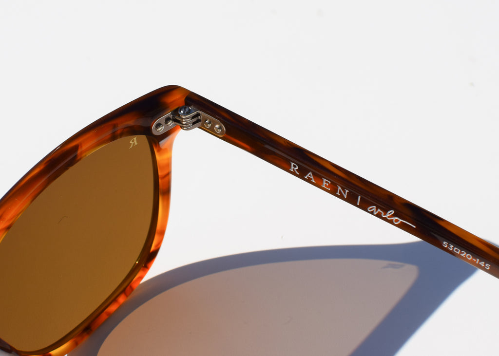 Arlo Sunglasses (Split Finish Rootbeer)
