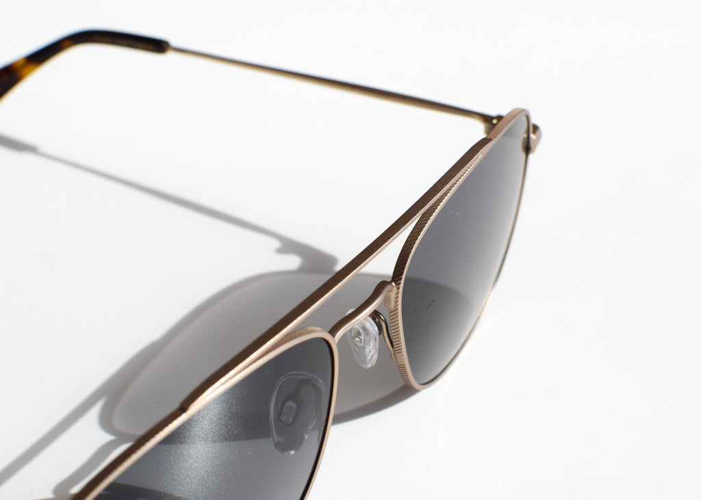 Barolo Sunglasses (Gold + Kola Tortoise / Polarized)