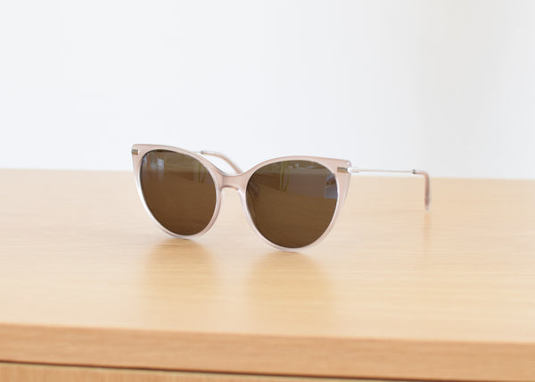 Raen Birch sunglasses in Rosé from Commonplace.