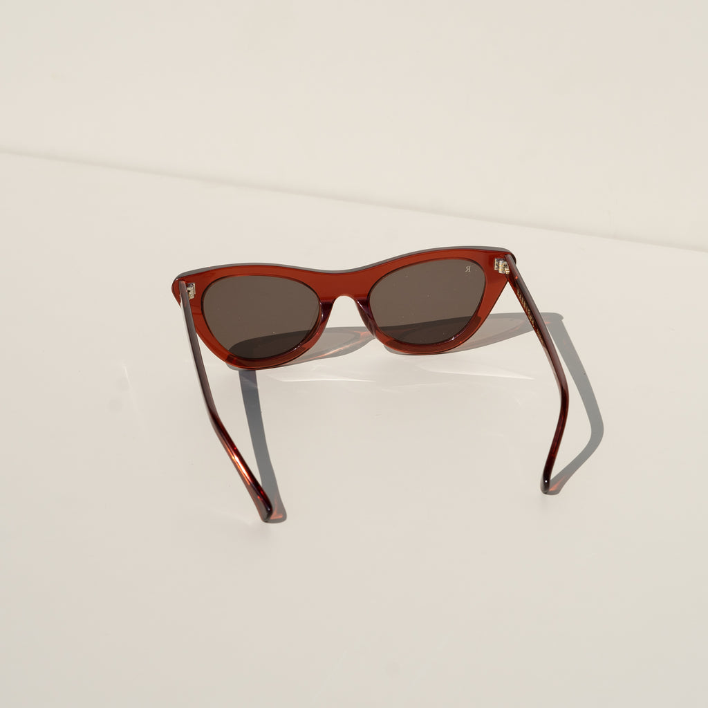 Flora Sunglasses (Brandy)