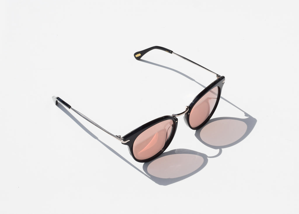 Norie Alchemy Sunglasses (Black & Sunrise Gold)