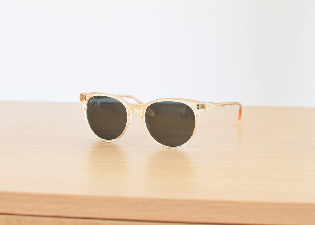 Norie Sunglasses (Champagne Crystal / Polarized)