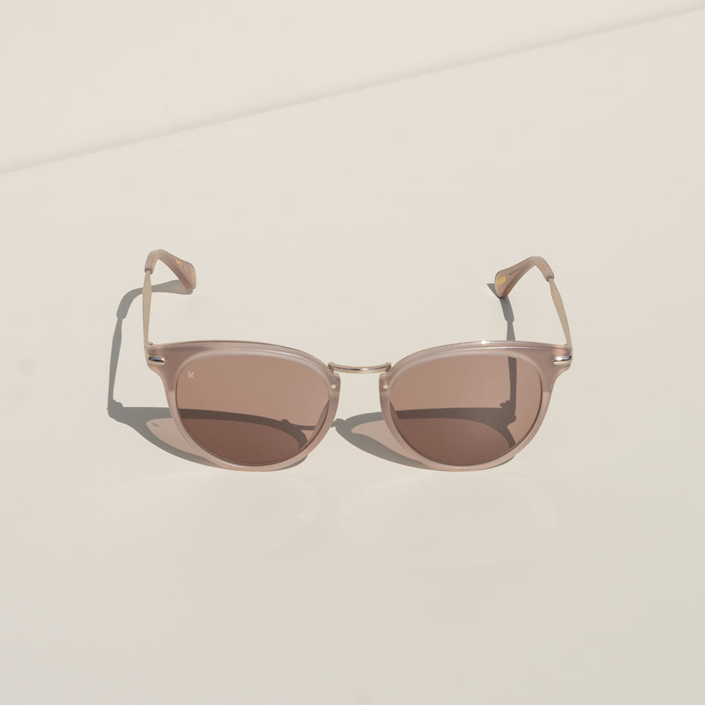 Norie Alchemy Sunglasses (Matte Rose & Sunrise Gold)