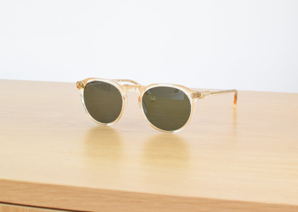 Remmy 49 Sunglasses (Champagne Crystal / Polarized)