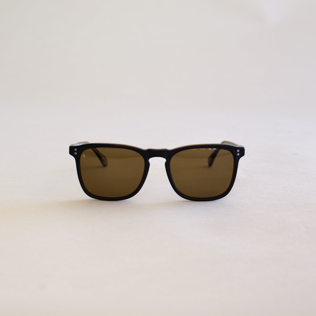 Wiley Sunglasses (Black and Tan)
