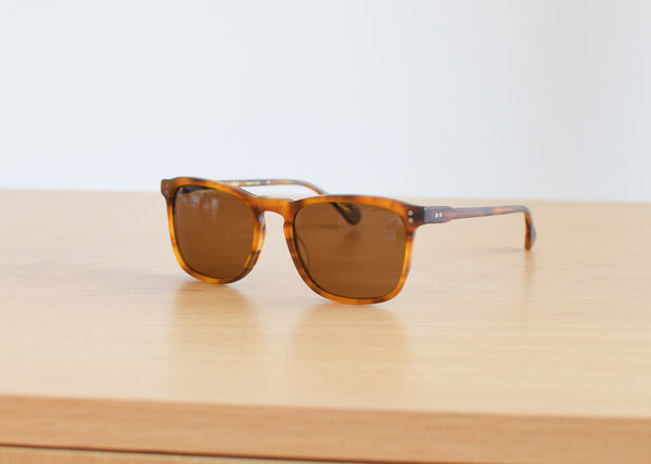 Wiley Sunglasses (Matte Rootbeer)
