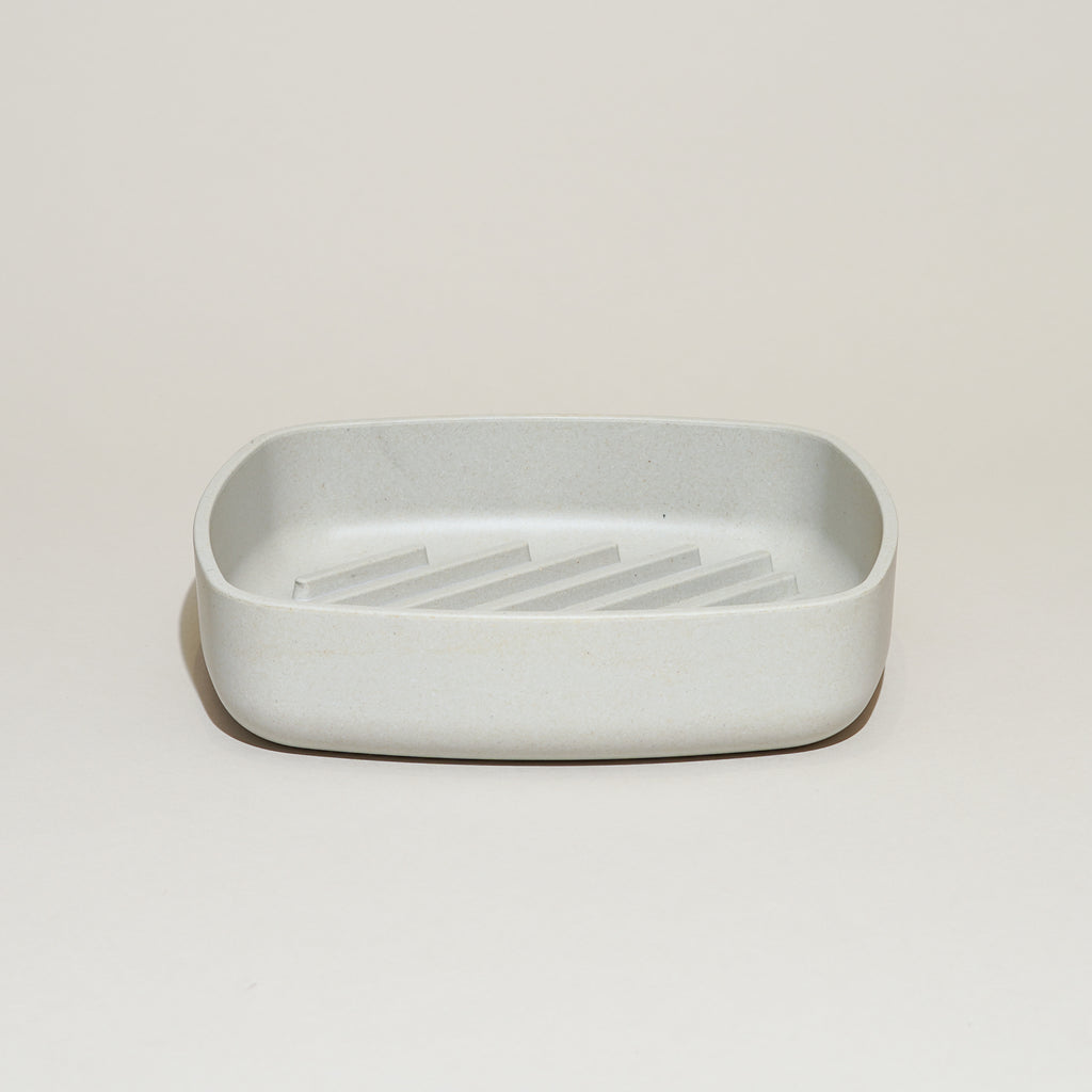The Tray-It Bread Tray by Rig-Tig by Stelton in gray.