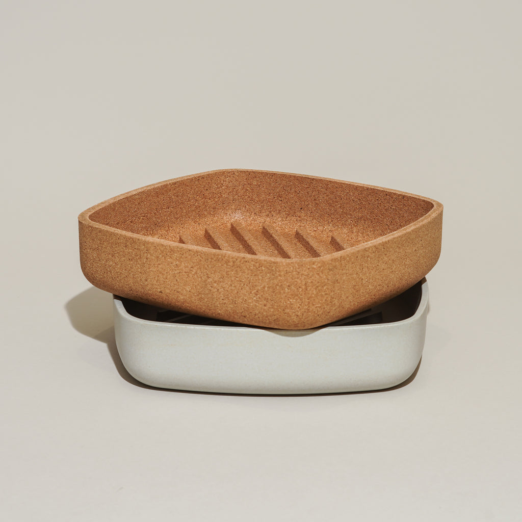 From Danish design brand Rig-Tig by Stelton, the Tray-It bread tray comes in two materials.