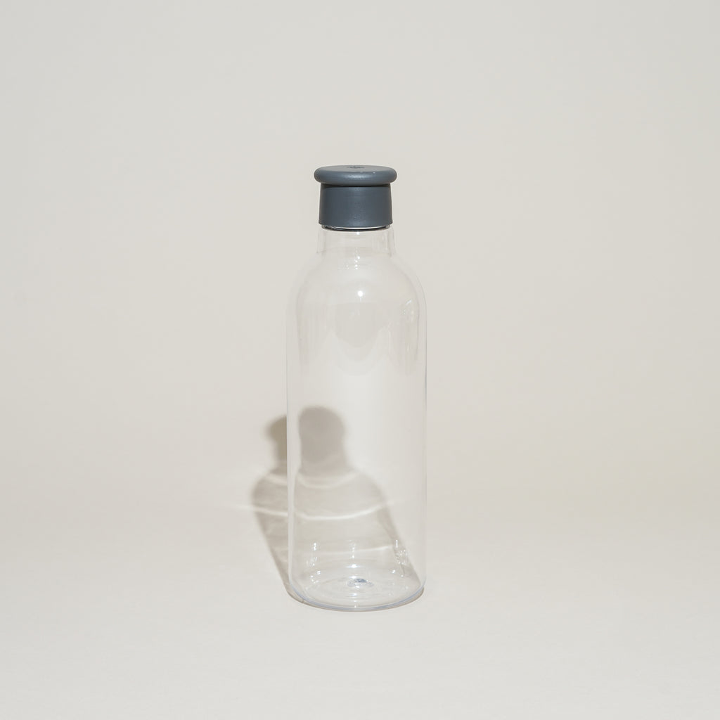 The Drink-It Water Bottle from Rig-Tig by Stelton in dark grey.