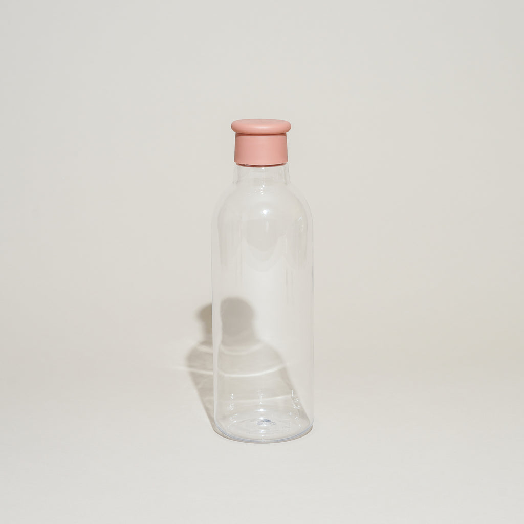 The Drink-It Water Bottle from Rig-Tig by Stelton in misty rose.