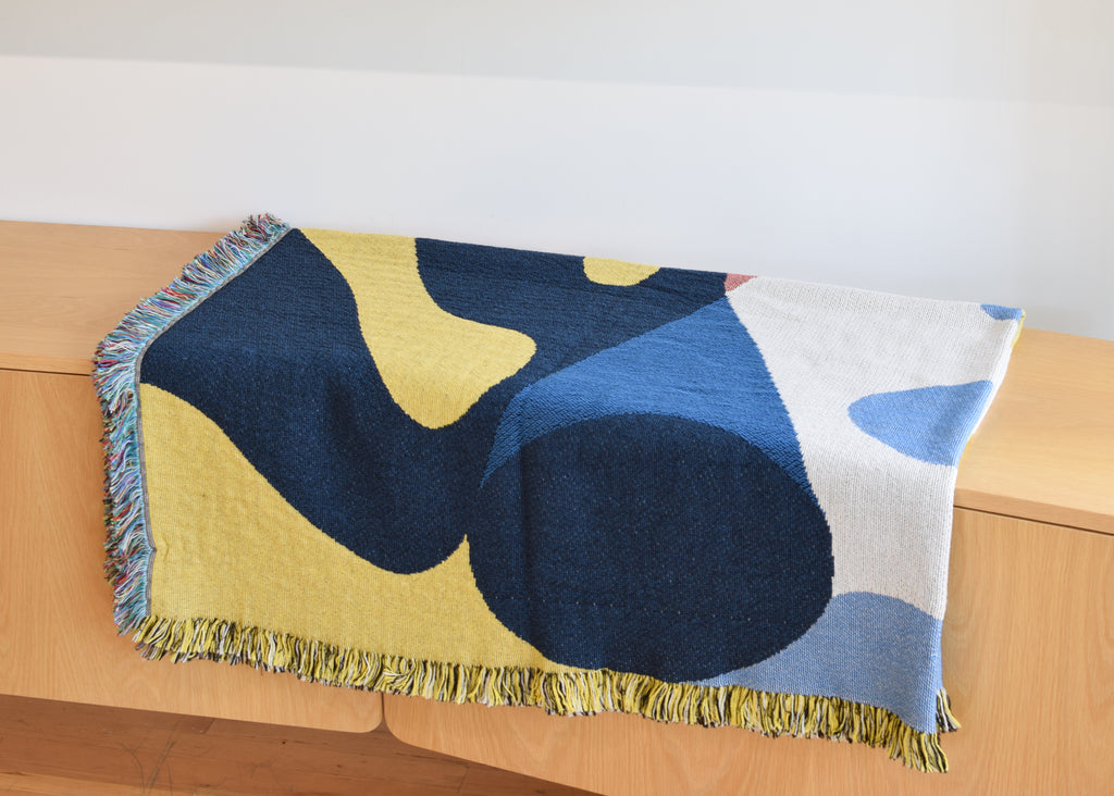 The December Throw from Slowdown Studio.